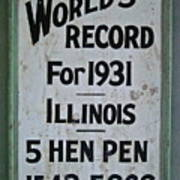 World's Record Art Print