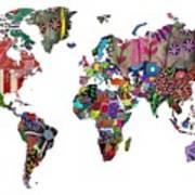 Worldwide Art Print