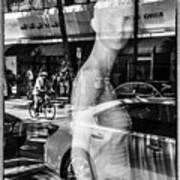 Worth Ave Reflections 0484 Art Print
