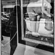 Worth Ave Reflections 0488 Art Print