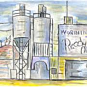 Worthington Ready Mix Art Print