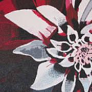 Wow Dahlia Art Print