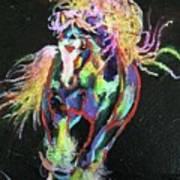 Wraggle Taggle Gypsy Cob Art Print