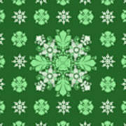 Wrapping Wallpaper Floral Seamless Tile For Website Vector, Repeating Foliage Outline Floral Western Art Print