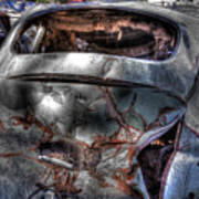 Wrecking Yard Study 2 Art Print
