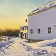 Wright-locke Farm And Squash House Art Print