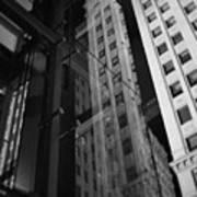 Wrigley Building Reflections Art Print