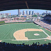 Wrigley Field, Chicago, Cubs V Art Print