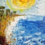 Writhing Sea Art Print