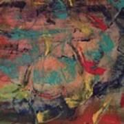 Writing On The Wall Art Print