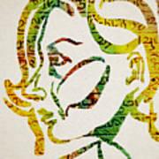 Written In Stone Art Print