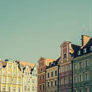 Wroclaw Architecture Art Print