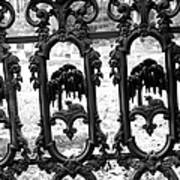 Wrought Iron Gate -west Epping Nh Usa Art Print