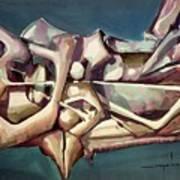 Ws1976ny006 Formas Dinamicas 23x17.5 Art Print