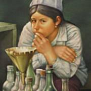 Ws1979bo014 Lusila La Paz 14x20 Art Print