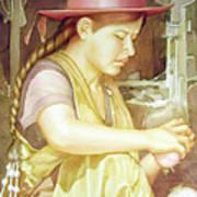 Ws1995dc004 Ivon 15x20 Art Print