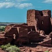 Wukoki Pueblo Ruins Wupatki National Monument Art Print
