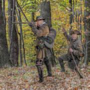 Wulff's Rangers At Schoenbrunn Village Art Print