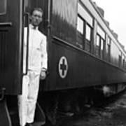 Ww I: Red Cross Railroad Art Print