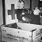 Ww II: Red Cross, C1942-43 Art Print