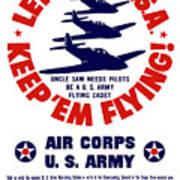 Us Army Air Corps - Ww2 Art Print