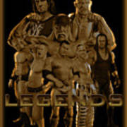Wwe Legends By Gbs Art Print