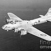 Wwii, Boeing B-17 Flying Fortress, 1940s Art Print