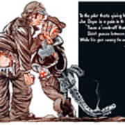 Wwii Joe Dope Cartoon Art Print