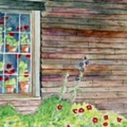 Wyeth House In Tempera Paint Art Print