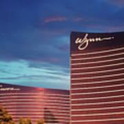 Wynn And Encore In Las Vegas Art Print