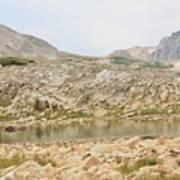 Wyoming At Altitude 4 Art Print
