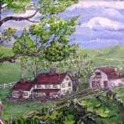 Wyoming Homestead Art Print