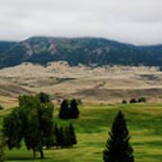 Wyoming Landscape 51a Art Print