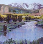 Wyoming River Art Print