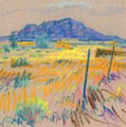 Wyoming Roadside Art Print