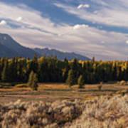 Wyoming Scenery One Art Print