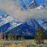 Wyoming Summer Art Print