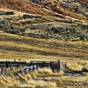 Wyoming X Art Print
