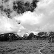 Wyoming's Big Sky Art Print