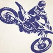 X Games Motocross 1 Art Print