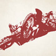 X Games Motocross 2 Art Print