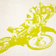X Games Motocross 5 Art Print