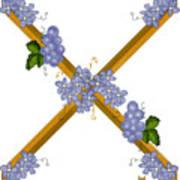 X Is For Ten Art Print