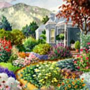 Xeriscape Garden Art Print