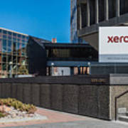 Xerox Tower Entrance Art Print