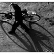 Xian Bike Lines Art Print