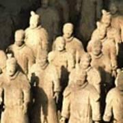 Xian Terracotta Warriors Art Print