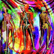 Bones Art Print by Joseph Mosley