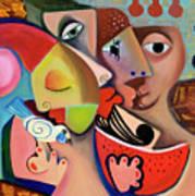 Xronia Polla Art Print