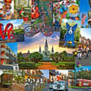 Ya Gotta Love New Orleans 2 Art Print